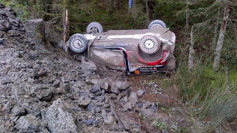 """WRC – Kubica: """"Un vero peccato perché non stavo spingendo"""""""
