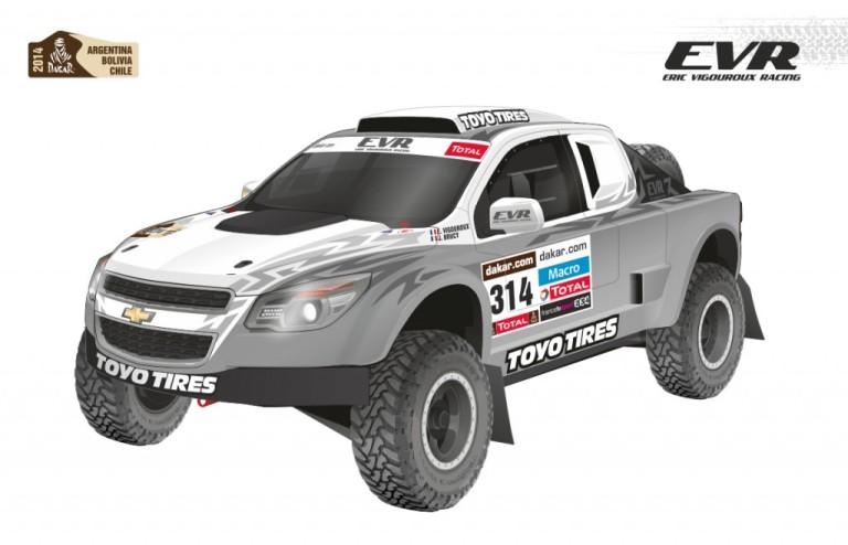 L'Eric Vigouroux Racing alla Dakar 2014