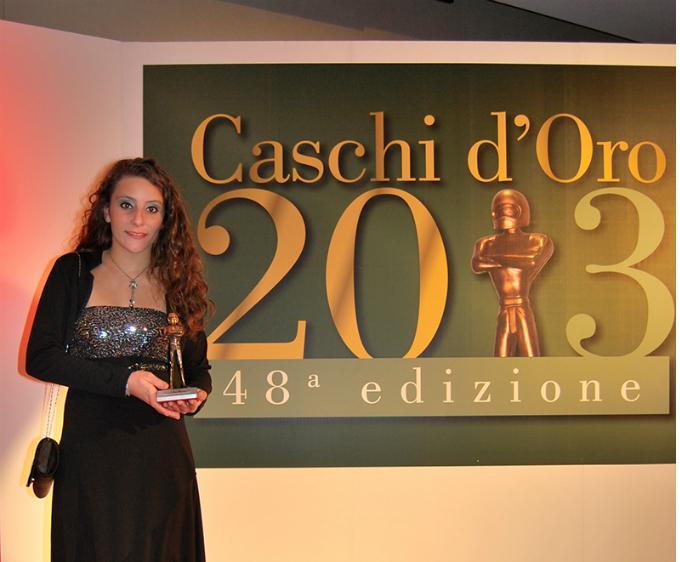 """Alessandra Brena premiata come """"Miglior Pilota Italiano Femminile 2013"""""""