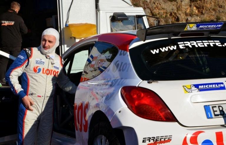 Kubica vince il Rally di Sperlonga