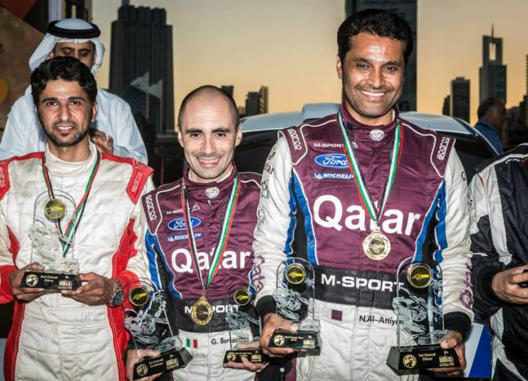 Al-Attiyah vince il Dubai International Rally