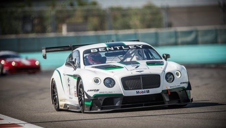 Buon debutto per la Bentley Continental GT3 nella 12 Ore del Golfo