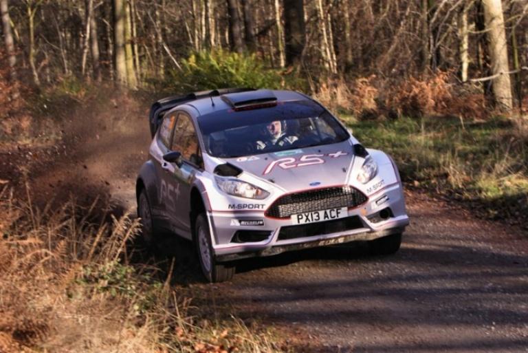 Wilson Jr. vince in Inghilterra con la nuova Fiesta R5+