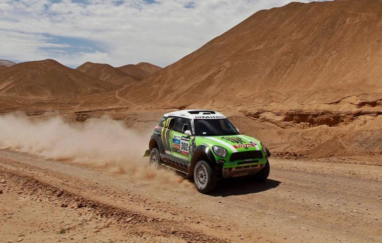 Dakar – La Mini cerca il tris con Peterhansel