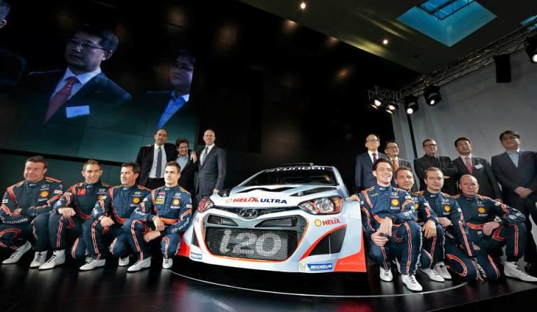 WRC – Presentato in Germania il nuovissimo team Hyundai