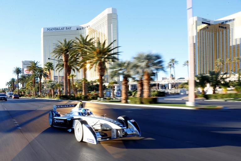 Formula E – La nuova Renault Spark per le vie di Las Vegas
