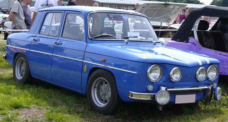 La mitica Renault 8 Gordini compie 50 anni