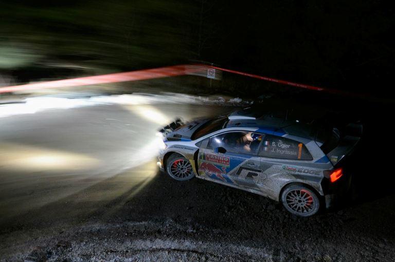 WRC – Ogier passa in testa al Montecarlo