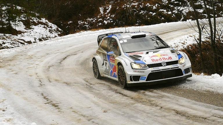 WRC – Ogier senza rischi tra neve e acqua