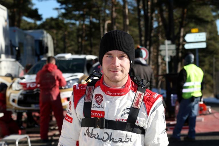 WRC – Ostberg contento della sua DS3