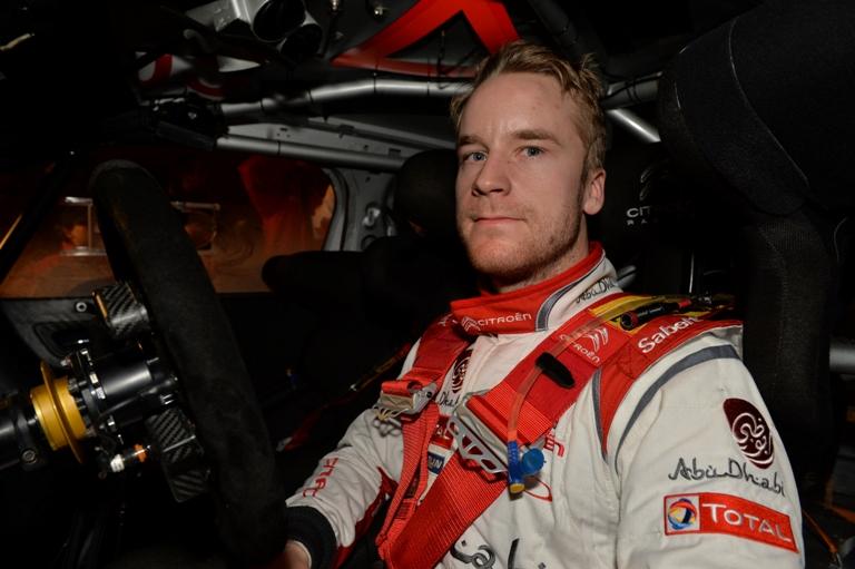 WRC – Ostberg al via del Mountain Rally