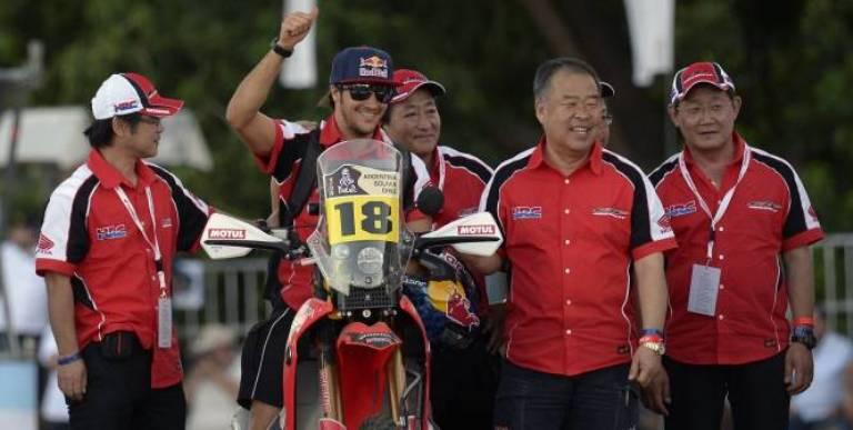Dakar 2014 – Moto: Seconda tappa a Sunderland
