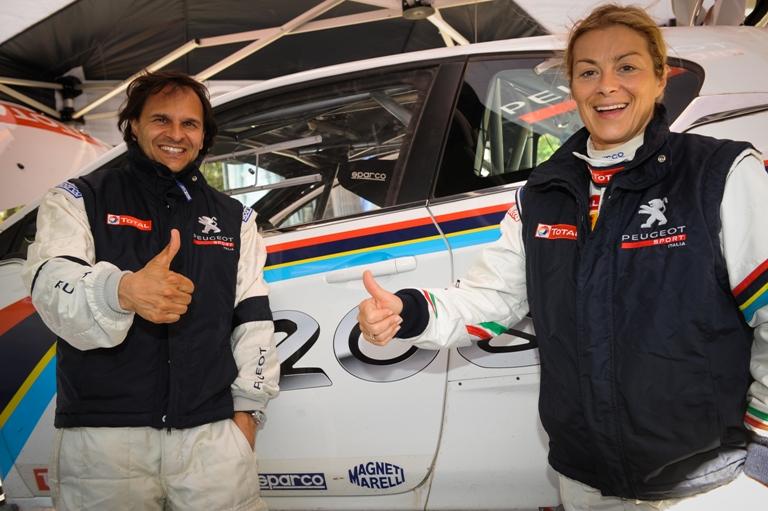 Andreucci promuove la nuova Peugeot 208 T16