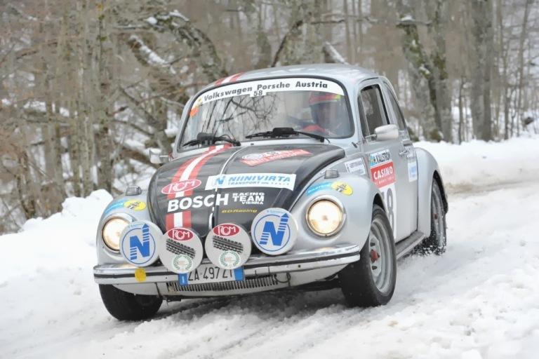 Rally di Montecarlo Storico – Buona prestazione del team Never Give Up