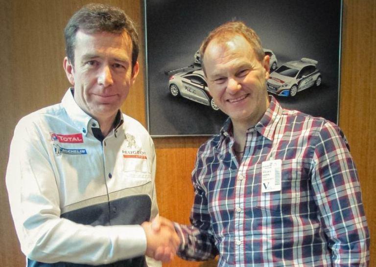 Peugeot entra nel mondo del Rallycross