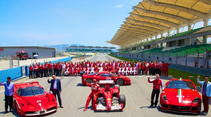 Ferrari: Bilancio positivo per i primi Racing Days a Sepang