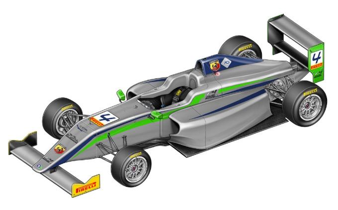 E' Pirelli il fornitore di pneumatici della Formula 4