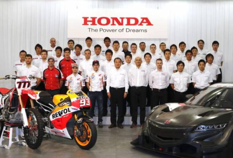 Honda annuncia il programma motorsport per il 2014