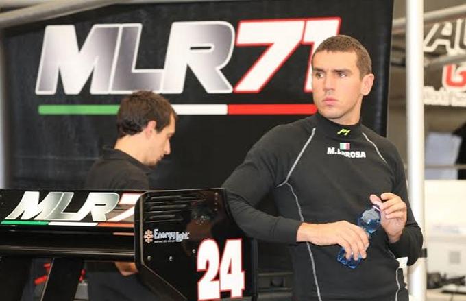 Michele La Rosa con MLR71 by Euronova Racing nell'Auto GP 2014