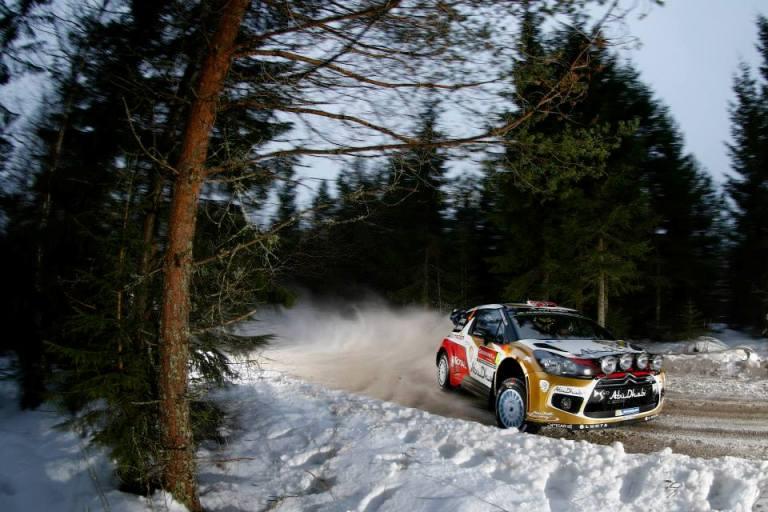 WRC – In Svezia shakedown alla Citroën di Ostberg