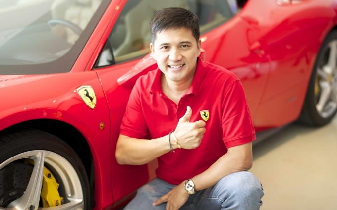 Un filippino per il Ferrari Challenge
