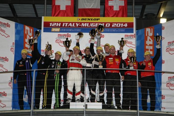 La Ferrari 458 di AF Corse vince la 12h Italia-Mugello