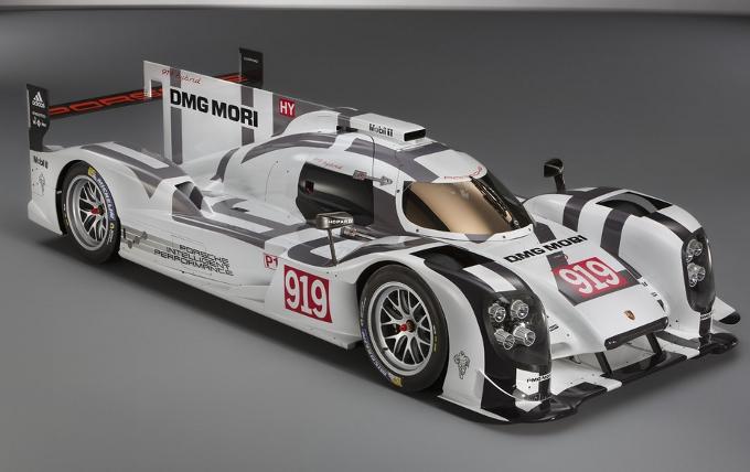 Prima presentazione della 919 Hybrid al Museo Porsche