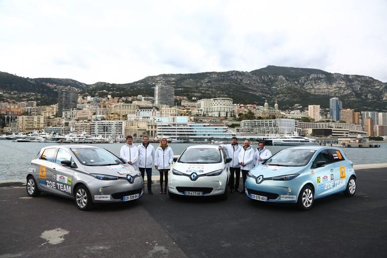 Renault Zoe vince il Rally di Montecarlo Zenn