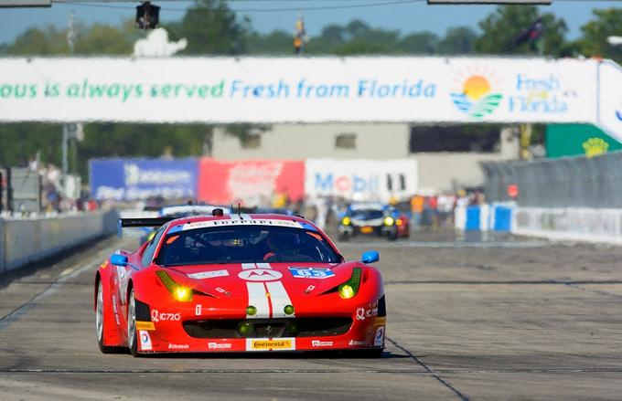 12 Ore di Sebring: Impresa sfiorata per la Ferrari dell'AIM Motorsport
