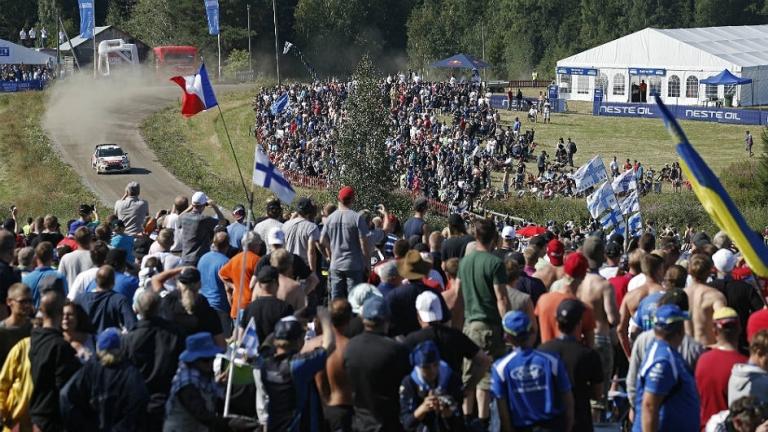 WRC – Parata di stelle alla Neste Oil Rally Helsinki Battle
