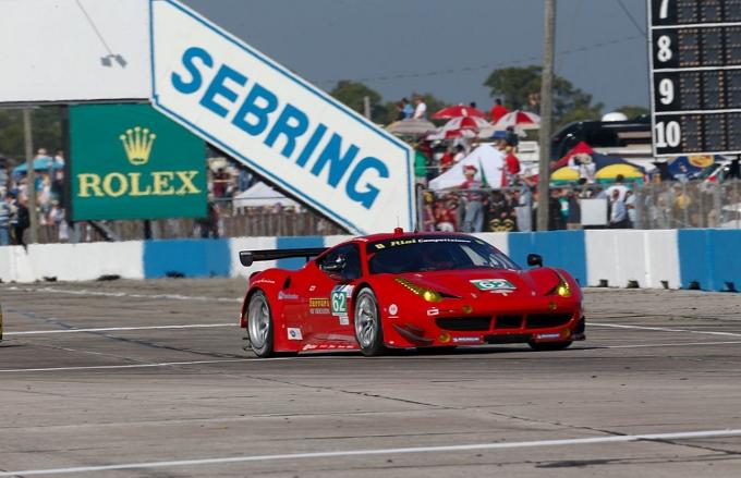 Sei Ferrari alla 12 Ore di Sebring