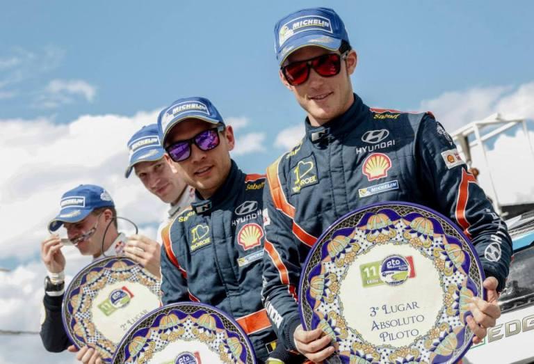 """WRC – Neuville: """"Felice del podio in una gara complessa"""""""