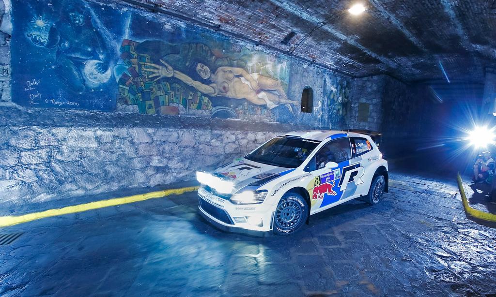 WRC – Ogier davanti dopo la prima ps in Messico