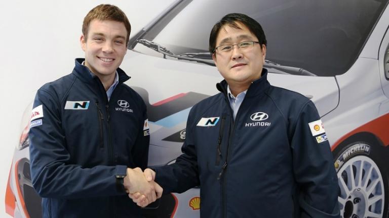 WRC – Paddon nel team Hyundai Motorsport N