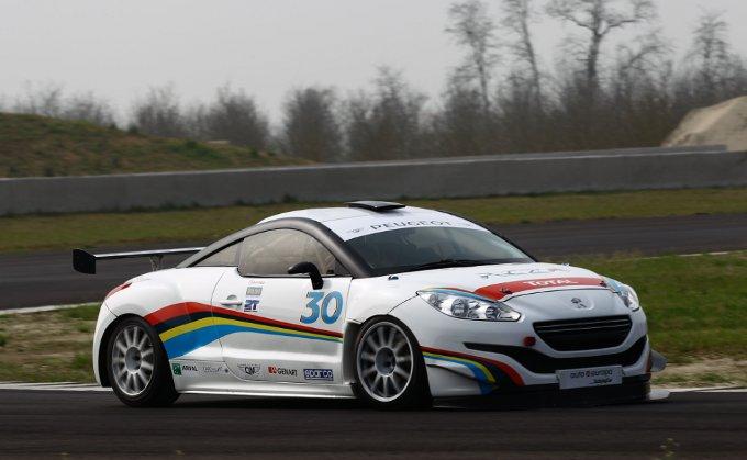 Primo shakedown per la Peugeot RCZ-R Cup