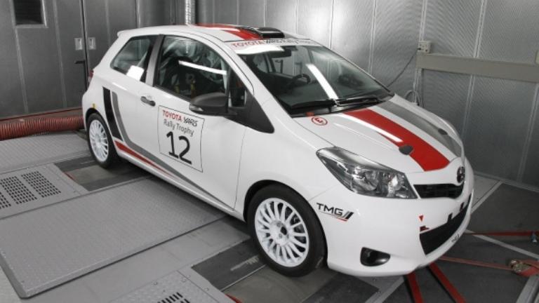 WRC – La nuova Toyota Yaris in prova sulle strade della Toscana
