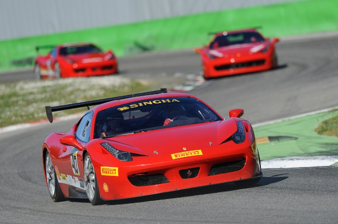 Al via a Monza nel weekend il Ferrari Challenge Europe