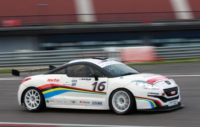 Ottimo debutto per la Peugeot RCZ-R Cup nella prima sfida del CITE a Franciacorta