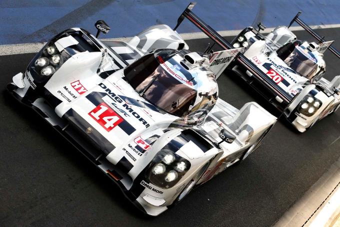 Porsche 919 Hybrid: prova generale per Le Mans