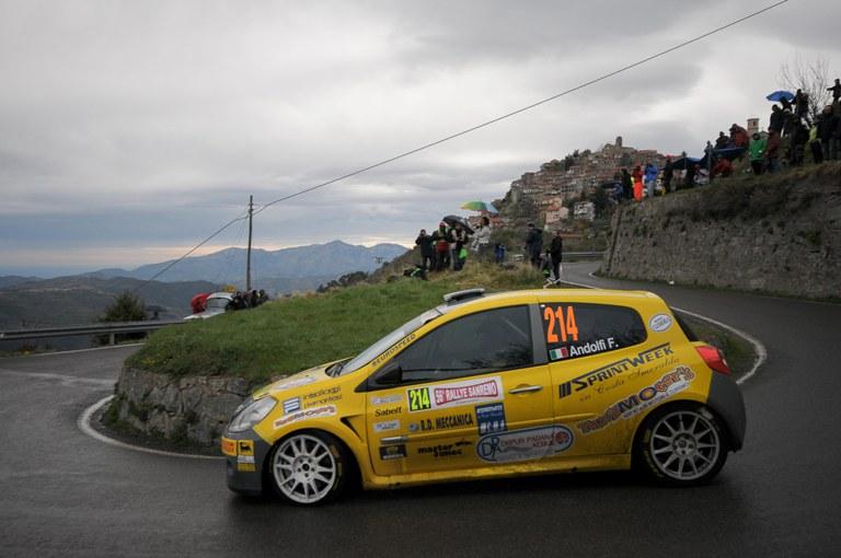 Trofei Renault – A Sanremo tra le Clio R3 vincono Andolfi-Casalini