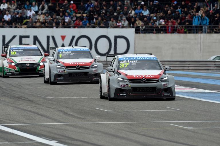 WTCC – Dominio Citroën anche in Francia