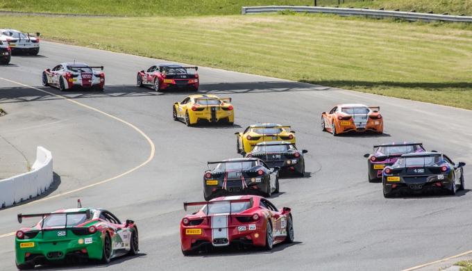 Ferrari Challenge North America: Emozioni e spettacolo a Sonoma