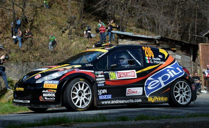 Rally Sanremo: Nucita sul podio con Peugeot e Pirelli