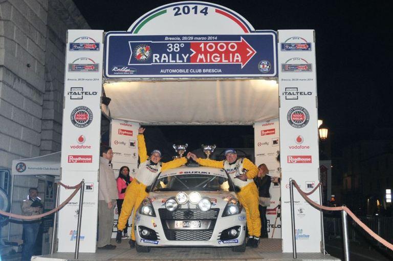 Suzuki Rally Cup – Soliani vince il Mille Miglia