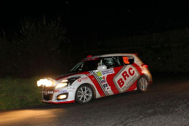 Suzuki Rally Trophy – Tassone fa suo il Sanremo Leggenda