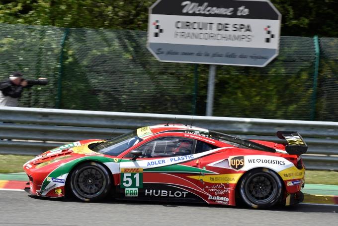 FIA World Endurance Championship – Doppietta per le Ferrari AF Corse a Spa-Francorchamps