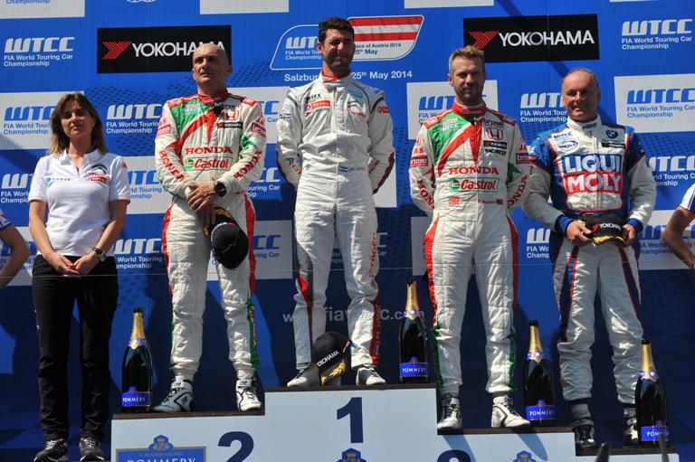 WTCC – Honda sul podio del Salzburgring
