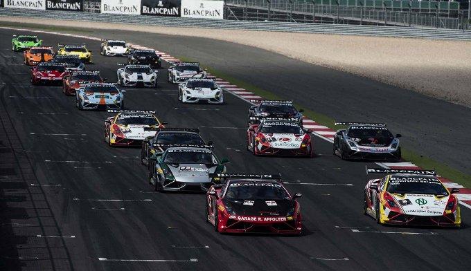 Il Lamborghini Blancpain Super Trofeo Europa sulla rotta di Silverstone