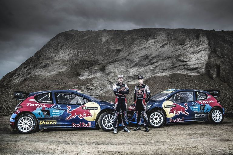 Il team Peugeot-Hansen pronto al debutto nel World Rallycross