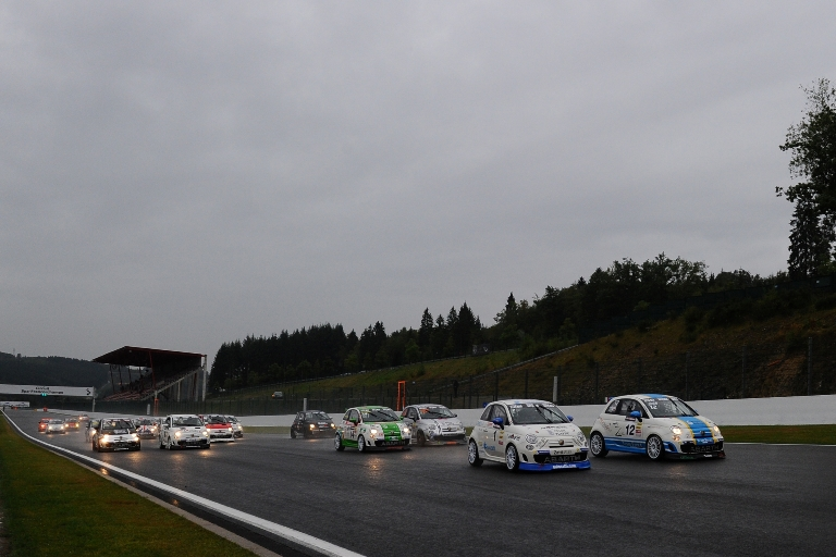 I Trofei Abarth Selenia Europa e Italia sul circuito di Spa-Francorchamps
